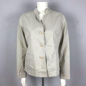 Eileen FIsher Kaki Jacket M